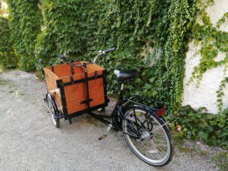 Ein Lastenfahrrad als Alternative zum Auto
